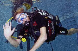Calypso Zwembad duik