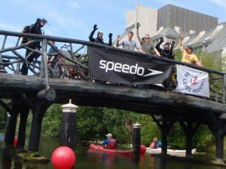 Succesvolle schoonmaak bij de Swim-In Leiden