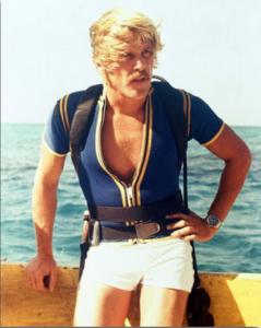 Nick Nolte in 70's duikpak