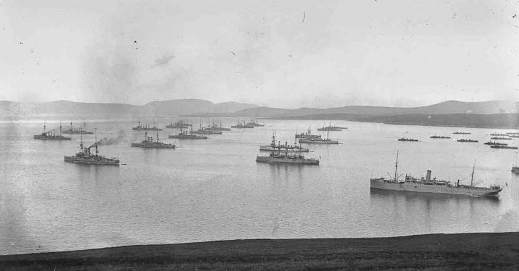 Vloot bij Scapa Flow